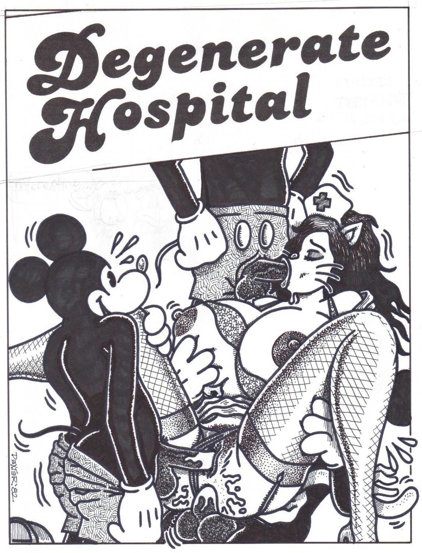 DEGENERATE HOSPITAL - Dexter Cockburn Original Art
