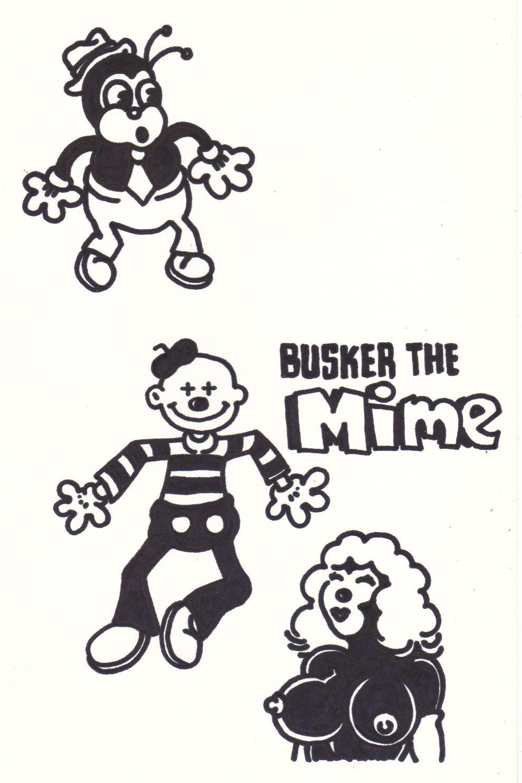 BUSKER ROUGH - Dexter Cockburn Original Art
