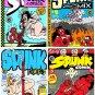 SPUNK COMIX 4-PACK - Dexter Cockburn Underground Comix