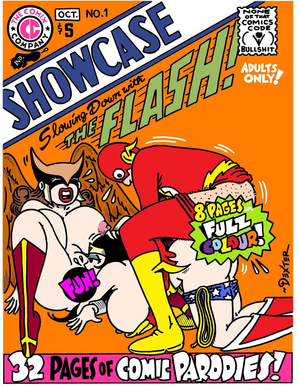 COMIX COMPANY SHOWCASE 2021 EDITION - Dexter Cockburn Underground Comix Parody