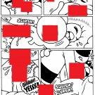 SPUNKY TO THE RESCUE PG 9 - Dexter Cockburn Original Art