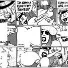A CHRISTMAS CARNAL PG 4 - Dexter Cockburn Original Art