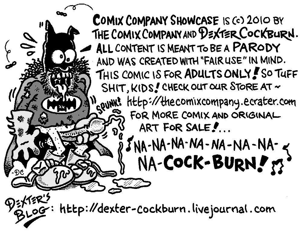 BAT-DEX ORIGINAL ART - Dexter Cockburn Original Art