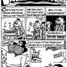 MR LICKALOTTAPUSS PG 1 - Dexter Cockburn Original Art