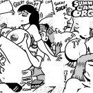 SUMMER CAMP 0RGY - Dexter Cockburn Original Art