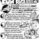 MARTY MARZ FUN PAGE - Dexter Cockburn Original Art