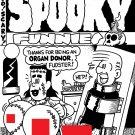 SPOOKY FUNNIES COVER ART - Dexter Cockburn Original Art