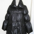 Black Winter Coat, feather weight