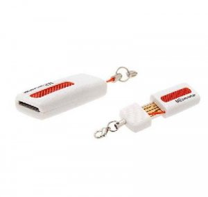 Ultra Compact Micro SD Card Reader Writer Keychain