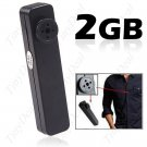 3 in 1 Button Spy Digital Camera Camcorder Voice Recorder with TF Slot
