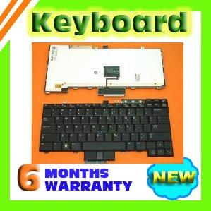 New Dell E6400 E6500 E5500 US keyboard, Backlit