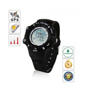 All The Way GPS Tracker Water-resistant Sport Watch Black � Integrated Version