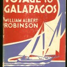 Robinson William Albert: Voyage To Galapagos
