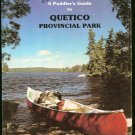 Beymer Robert: A Paddlers Guide To Quetico Provincial Park