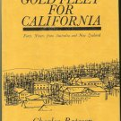 Bateson Charles: Gold Fleet For California Forty Niners From Australia And New Zealand