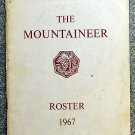 no author: The Mountaineer 1967 Roster