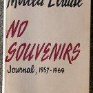 Mircea Eliade:    No souvenirs  journal, 1957-1969