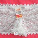 Lot of 3 womens Cream openwork lace Boyshorts intimates underwear panties size S NWT