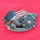 Coast Guard Pewter Color Unisex Belt Buckle