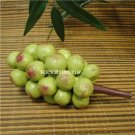 New Hand Carved Solid Wood Grapes Home Decor FREE S/H