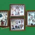 "S/4 13.5"" Sports Shadow Box Display Frame FREE S/H"