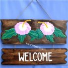 Carved Wood TIKI Bar Sign Hawaiian Island Wall Decor