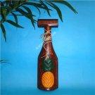 Wood Hawaiian TIKI Pineapple Wall paddle Decor FREE S/H