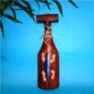 NU Carved Wood Hawaiian TIKI Gecko Wall paddle FREE S/H