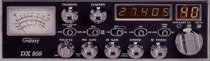 GALAXY DX 959 40 CHANNEL AM/SSB MOBILE CB RADIO NEW