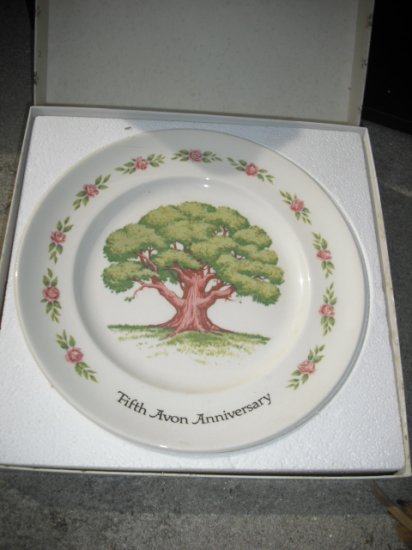 Great Oak 5th Anniversary Plate