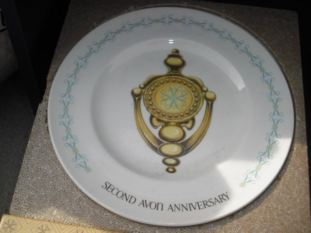 Door Knocker 2nd Anniversary Plate