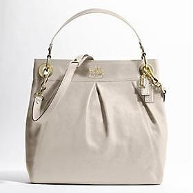 BEAUTIFUL COACH MADISON LEATHER LARGE HIPPIE BAG purse tote Retail $358 14577