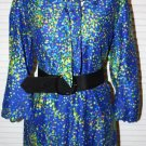 Vintage 1960s Dress Secretary  Size L XL