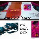 BLUE Hoopnotica Travel Hula Hoop Exercise +Level 1 DVD -- SHIP PRIORITY MAIL (2-3 DAYS DELIVERY)