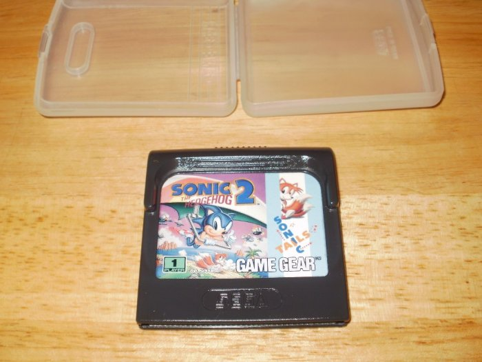 Sonic the Hedgehog 2 - Sega Game Gear - With Case