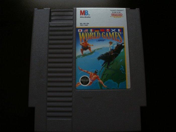 World Games - Nintendo NES