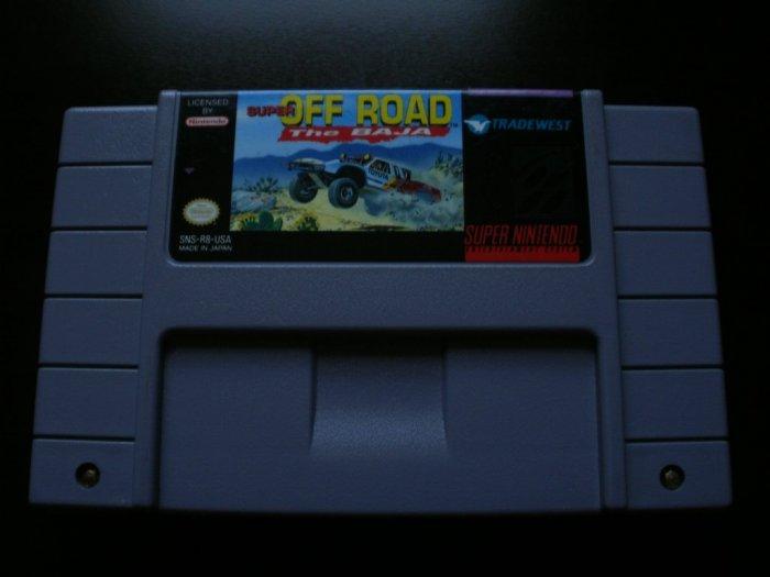 Super Off Road: The Baja - SNES Super Nintendo