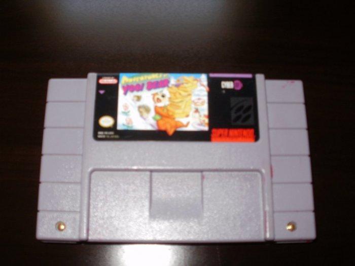 Adventures of Yogi Bear - Super Nintendo