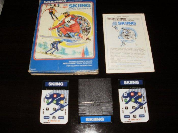 US Ski Team Skiing - Mattel Intellivision - Complete CIB