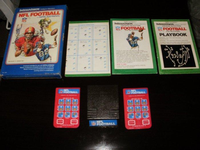NFL Football - Mattel Intellivision - Complete CIB