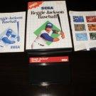 Reggie Jackson Baseball - Sega Master System - Complete CIB