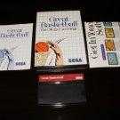 Great Basketball - Sega Master System - Complete CIB