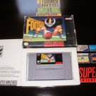 Super Play Action Football - SNES Super Nintendo - With Box & Pamphlets