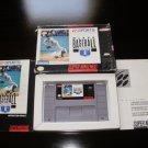 MLBPA Baseball - SNES Super Nintendo - Complete CIB