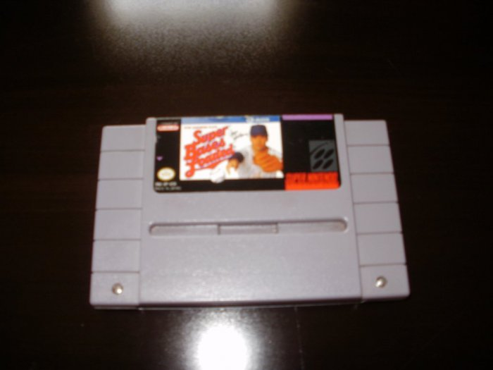 Super Bases Loaded - SNES Super Nintendo