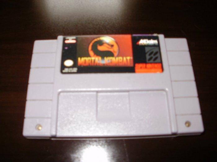 Mortal Kombat - SNES Super Nintendo