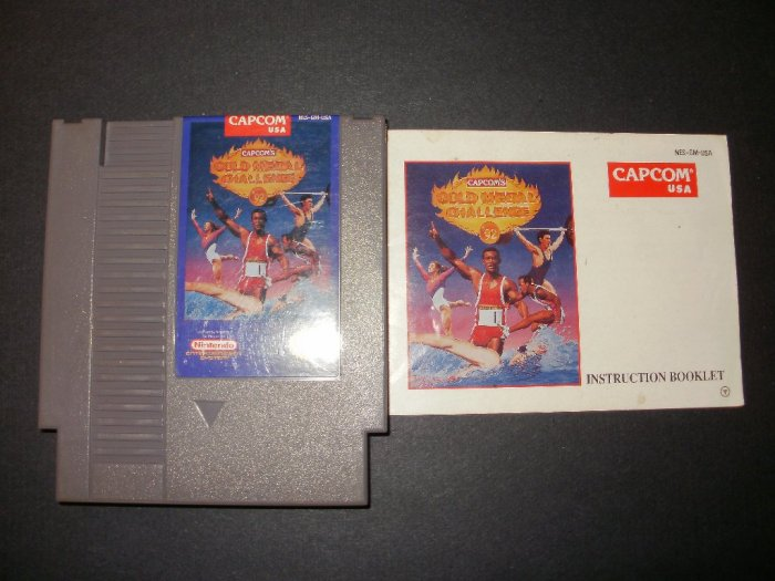 Gold Medal Challenge '92 - Nintendo NES - With Manual
