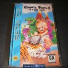 Chuck Rock II 2 Son of Chuck - Sega CD - Complete CIB