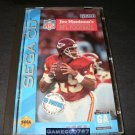 Joe Montana's NFL Football - Sega CD - Complete CIB