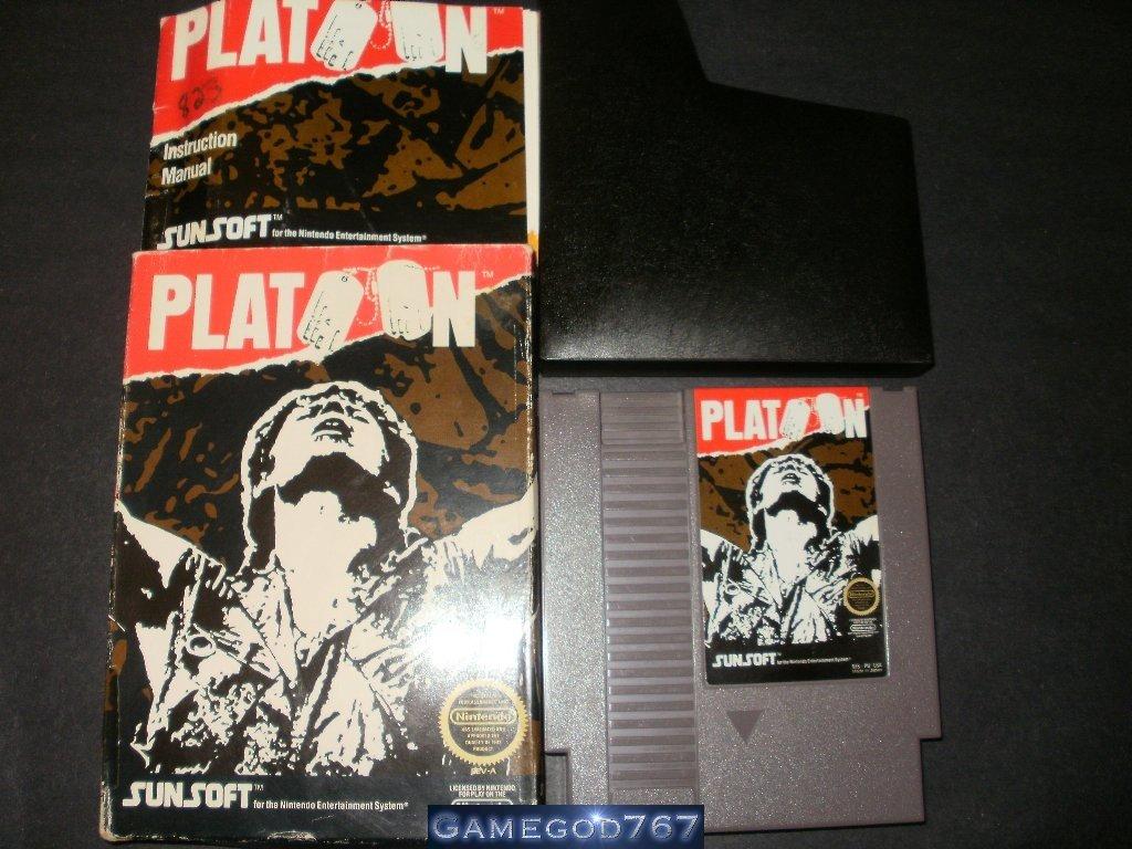 Platoon - Nintendo NES - Complete CIB